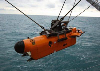 Υποβρύχιο όχημα καταστροφής ναρκών  AN/SLQ48 .