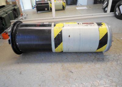 Hλεκτρονική  Μονάδα PDU1  υποβρυχίου οχήματος καταστροφής ναρκών  AN/SLQ48 κατά την διαδικασία  επισκευής της  στα εργαστήρια της εταιρειας μας.