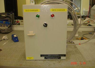 Ηλεκτρολογικοί πινακές και isolator box των τορπιλών SUT – SST4 – MK37 κατά την διαδικασία κατασκευής τους στα εργαστήρια της εταιρείας μας.