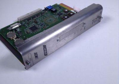Ηλεκτρονική πλακέτα κεντρικού συστήματος αυτοματισμού HASLER κατά την διαδικασία επισκευής της.
