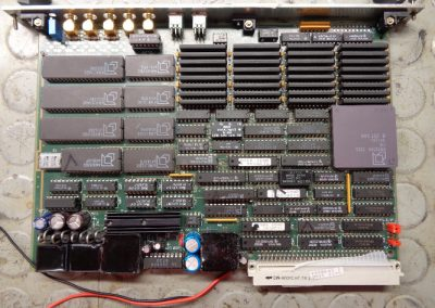 Ηλεκτρονική πλακέτα κεντρικού συστήματος αυτοματισμού σε πλοίο του Εμπορικού Ναυτικού κατά την διαδικασία επισκευής της.