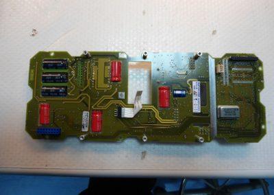 Ηλεκτρονική πλακέτα κεντρικού συστήματος ενδοεπικοινωνίας  σε πλοίο του Εμπορικού Ναυτικού κατά την διαδικασία επισκευής της.