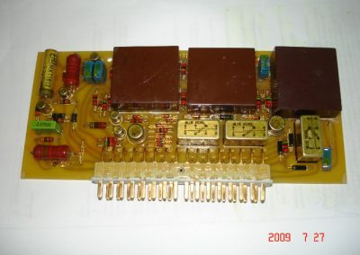 Functional initial sample of the A-313 fire driver electronic board of SST-4 torpedos.