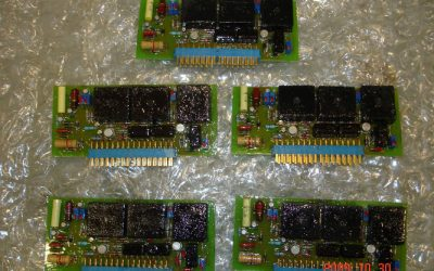 SST4 FIRING ELECTRONIC CARDS CONSTRUCTION